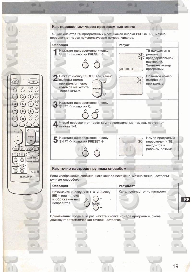 Пульт Rm 837 Инструкция По